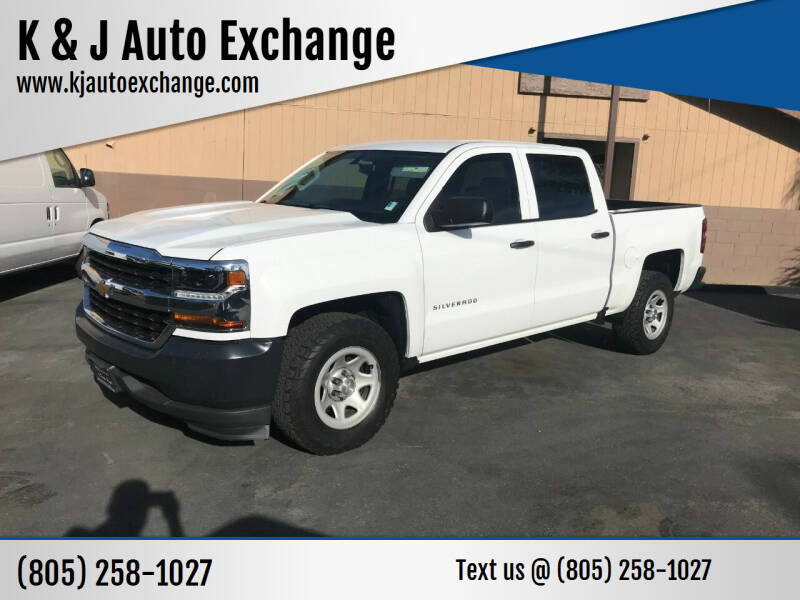 2017 Chevrolet Silverado 1500 for sale at K & J Auto Exchange in Santa Paula CA