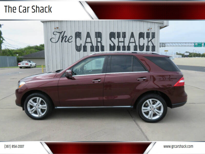 2013 Mercedes-Benz M-Class for sale at The Car Shack in Corpus Christi TX
