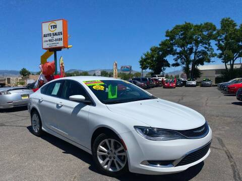 2016 Chrysler 200 for sale at TDI AUTO SALES in Boise ID
