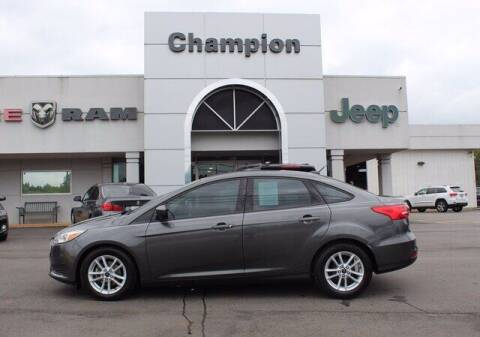 2018 Ford Focus for sale at Champion Chevrolet in Athens AL