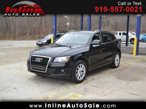 2010 Audi Q5 for sale at Inline Auto Sales in Fuquay Varina NC