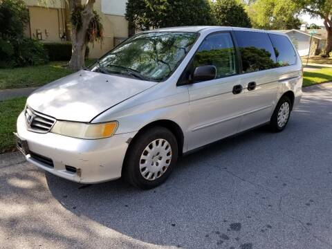 2003 Honda Odyssey for sale at Low Price Auto Sales LLC in Palm Harbor FL