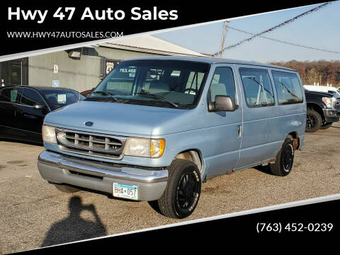 1998 Ford E-150 for sale at Hwy 47 Auto Sales in Saint Francis MN
