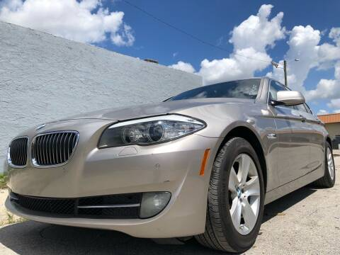 2011 BMW 5 Series for sale at Eden Cars Inc in Hollywood FL