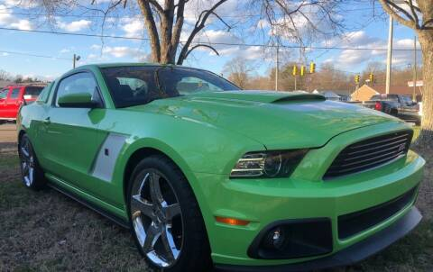 2013 Ford Mustang for sale at Creekside Automotive in Lexington NC