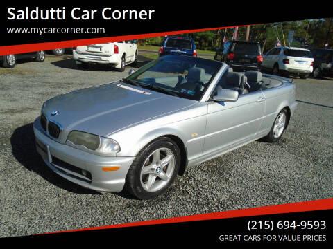 2002 BMW 3 Series for sale at Saldutti Car Corner in Gilbertsville PA