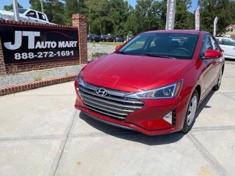 2019 Hyundai Elantra for sale at J T Auto Group in Sanford NC