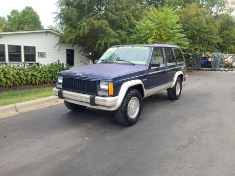 1996 Jeep Cherokee for sale at TR MOTORS in Gastonia NC