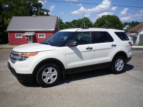 2012 Ford Explorer for sale at Starrs Used Cars Inc in Barnesville OH
