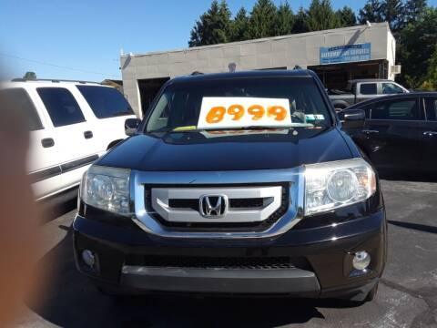 2009 Honda Pilot for sale at Dun Rite Car Sales in Downingtown PA