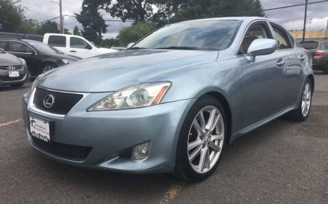 2007 Lexus IS 250 for sale at Universal Auto INC in Salem OR