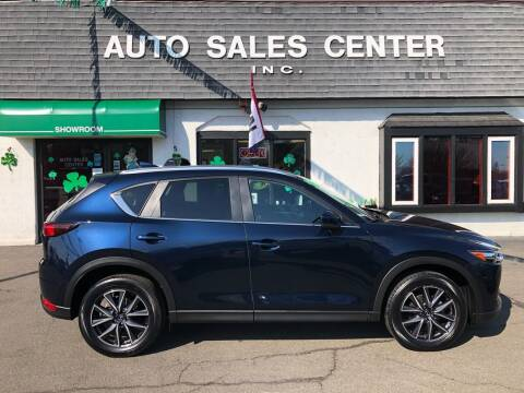 2018 Mazda CX-5 for sale at Auto Sales Center Inc in Holyoke MA