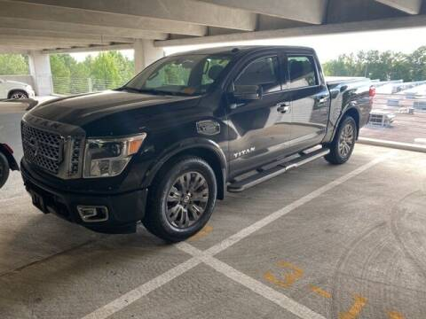 2017 Nissan Titan for sale at Southern Auto Solutions-Jim Ellis Hyundai in Marietta GA