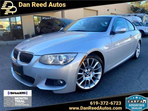 2013 BMW 3 Series for sale at Dan Reed Autos in Escondido CA
