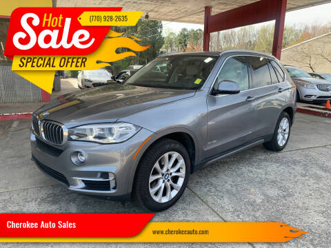 2014 BMW X5 for sale at Cherokee Auto Sales in Acworth GA