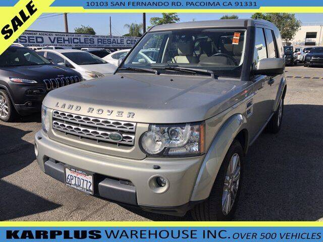 2011 Land Rover LR4 for sale at Karplus Warehouse in Pacoima CA