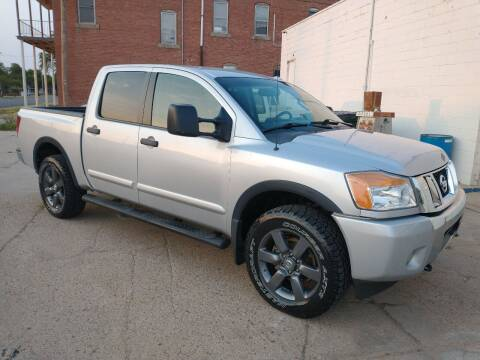 2015 Nissan Titan for sale at Apex Auto Sales in Coldwater KS