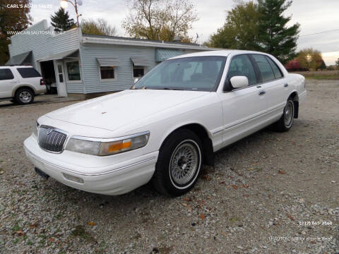1997 Mercury Grand Marquis for sale at CARL'S AUTO SALES in Boody IL
