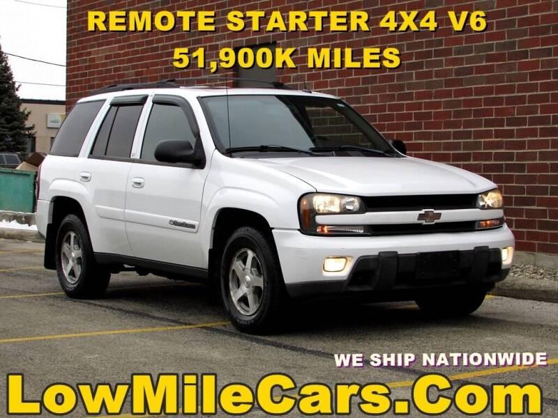 2004 Chevrolet TrailBlazer for sale at A1 Auto Sales in Burr Ridge IL