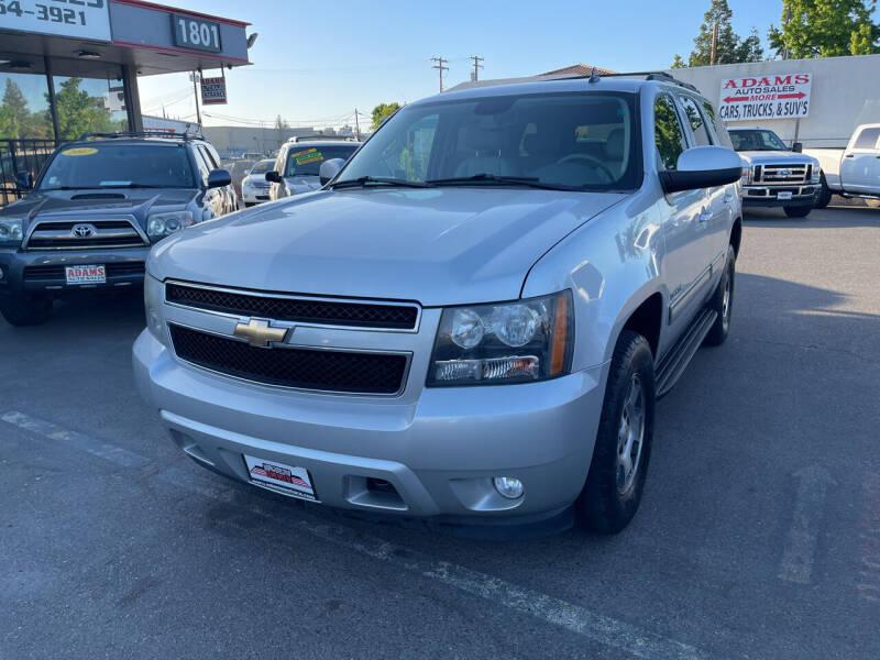 2010 Chevrolet Tahoe for sale at Adams Auto Sales in Sacramento CA