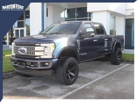 2019 Ford F-250 Super Duty for sale at BARTOW FORD CO. in Bartow FL