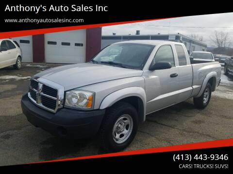 2007 Dodge Dakota for sale at Anthony's Auto Sales Inc in Pittsfield MA