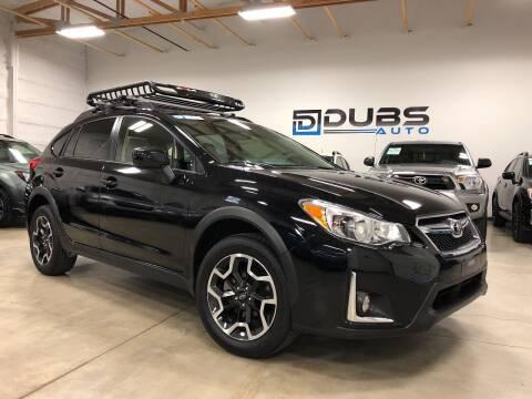 2016 Subaru Crosstrek for sale at DUBS AUTO LLC in Clearfield UT
