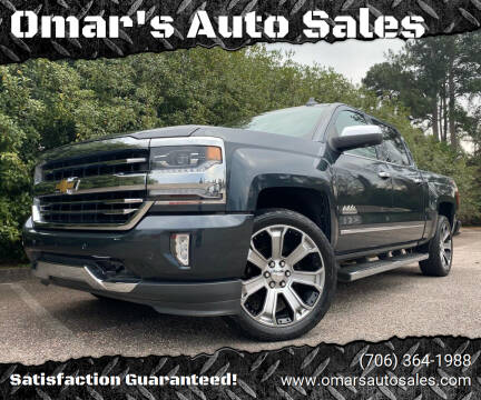 2017 Chevrolet Silverado 1500 for sale at Omar's Auto Sales in Martinez GA