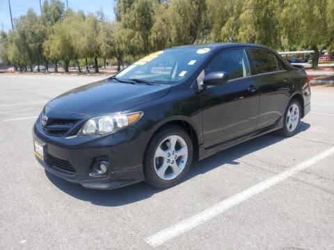 2012 Toyota Corolla for sale at ALL CREDIT AUTO SALES in San Jose CA