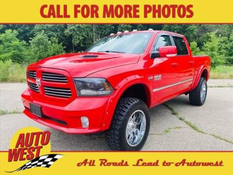 2015 RAM Ram Pickup 1500 for sale at Autowest of GR in Grand Rapids MI
