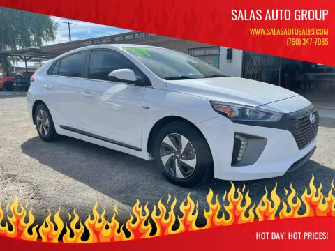 2017 Hyundai Ioniq Hybrid for sale at Salas Auto Group in Indio CA