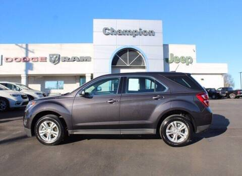 2016 Chevrolet Equinox for sale at Champion Chevrolet in Athens AL