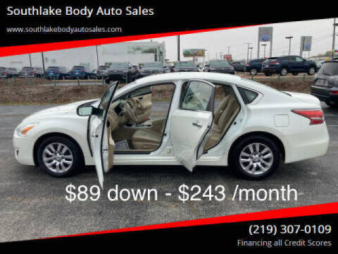 2014 Nissan Altima for sale at Southlake Body Auto Sales in Merrillville IN