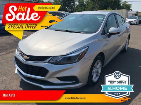 2018 Chevrolet Cruze for sale at Ital Auto in Oklahoma City OK