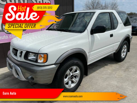 2002 Isuzu Rodeo Sport for sale at Euro Auto in Overland Park KS