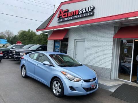 2011 Hyundai Elantra for sale at AG AUTOGROUP in Vineland NJ