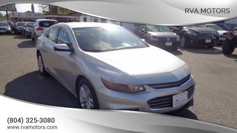 2017 Chevrolet Malibu for sale at RVA MOTORS in Richmond VA