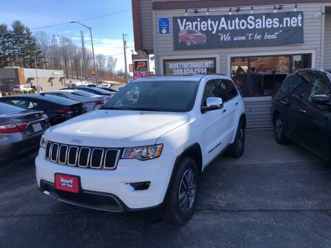 2020 Jeep Grand Cherokee for sale at Variety Auto Sales in Worcester MA