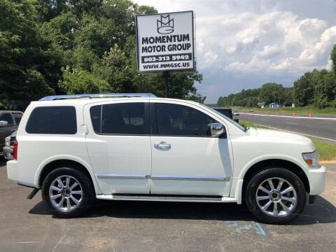 2010 Infiniti QX56 for sale at Momentum Motor Group in Lancaster SC