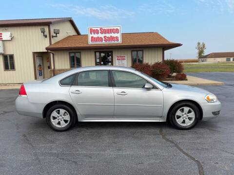 2011 Chevrolet Impala for sale at Pro Source Auto Sales in Otterbein IN