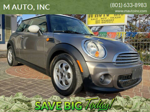 2013 MINI Hardtop for sale at M AUTO, INC in Millcreek UT