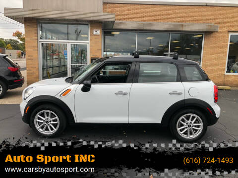 2016 MINI Countryman for sale at Auto Sport INC in Grand Rapids MI