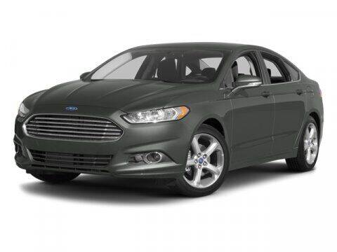 2014 Ford Fusion for sale at HILAND TOYOTA in Moline IL