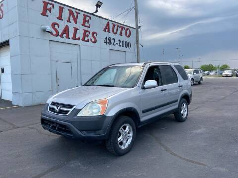 2002 Honda CR-V for sale at Fine Auto Sales in Cudahy WI