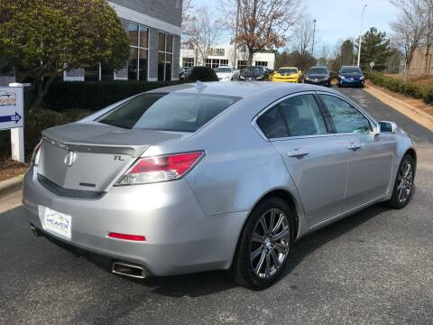 2014 Acura TL for sale at Weaver Motorsports Inc in Cary NC