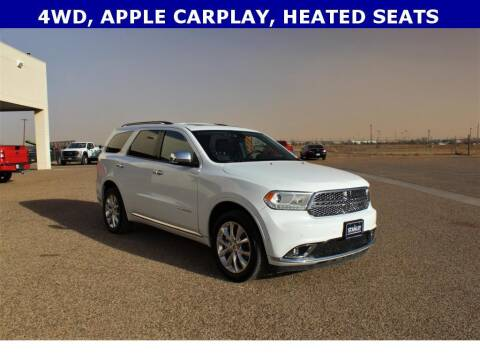 2020 Dodge Durango for sale at STANLEY FORD ANDREWS in Andrews TX