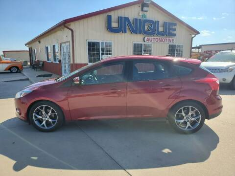 "2014 Ford Focus for sale at UNIQUE AUTOMOTIVE ""BE UNIQUE"" in Garden City KS"