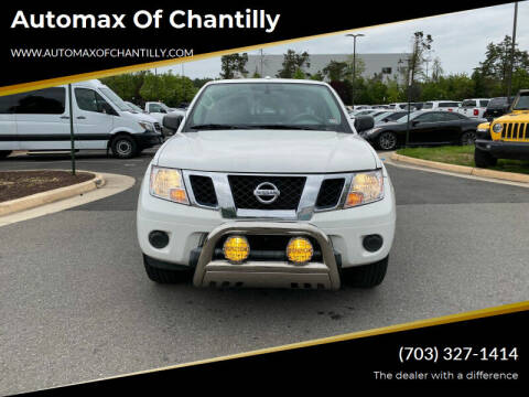 2018 Nissan Frontier for sale at Automax of Chantilly in Chantilly VA