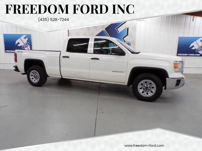 2014 GMC Sierra 1500 for sale at Freedom Ford Inc in Gunnison UT