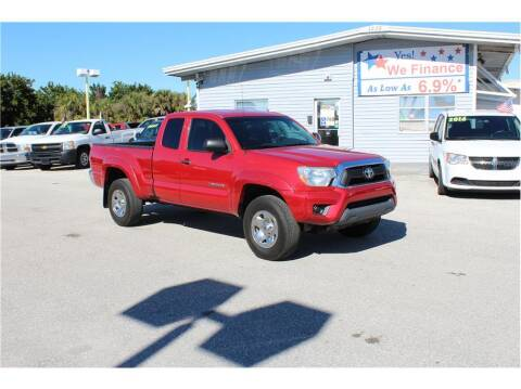 2012 Toyota Tacoma for sale at My Value Car Sales in Venice FL
